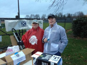 Karen Shepherd and Walt Buss at the Dublin Coffman Football Game